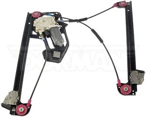 For BMW E38 740i 740iL Front Driver Left Pwr Window Motor and Regulator Dorman
