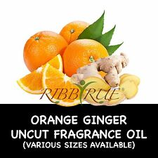 100% Pure Orange Ginger Fragrance Oil .50oz