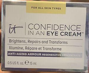 It Confidence in an eye cream 0.5oz