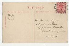 Mr Frank Lyne Shepherdstown Jefferson County West Virginia USA 1910 US006