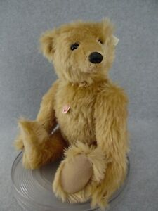 """17"""" antique reproduction of 1905 Steiff mohair jointed Teddy Bear BARLE #404207"""