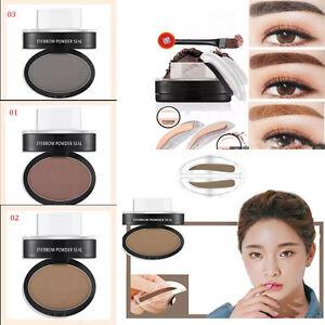 Eyebrow Makeup Powder Definition Brow Stamp Waterproof Paint Eyebrow Enhancer