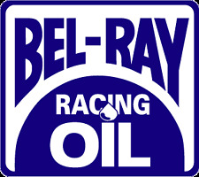 Motorsport Car Motorbike Exterior Vinyl Stickers Bel - Ray Racing Oil Decals x2