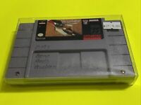 🔥💯 WORKING SUPER NINTENDO SNES RARE GAME CARTRIDGE ⚾️ HARDBALL 3 Baseball ⚾️