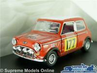 MINI COOPER MODEL CAR RALLY 1:43 SCALE AUSTIN MORRIS CARARAMA MONTE CARLO 177 K8