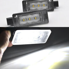 2x LED Number Plate Lights Licence Lamps For Peugeot 207 CC 208 2008 308 MK2 C5