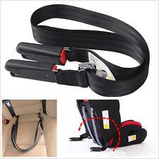 Universal Coche Asiento Ajustable Bebé Seguridad Cinturón de enlace suave titular de anclaje isofix