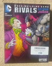 DC Comics Deck-Building Game: Rivals Batman vs. The Joker NEW Sealed