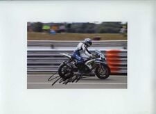 Tommy Hill Worx Crescent Suzuki BSB 2010 Signed 13