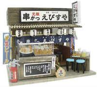 Billy Doll House Miniature Model Kit Handcraft Naniwa kushikatsu ebisuya figure