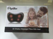 New Papillon 3D Shiatsu Massager Pillow With Heat Jh-116