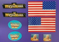 WWF Hasbro Ring Replacement Stickers