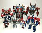 TRANSFORMERS OPTIMUS PRIME LOT of 7 DIFFERENT FIGURES LOOK!!