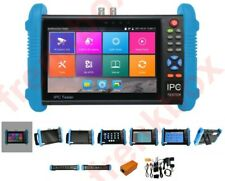 Monitor Tester configurazione sistemi telecamere analogiche AHD ip 4K H.264
