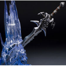 "NEW World of Warcraft Arthas Menethil LED LIGHT Frostmourne 12"" Action Figures"