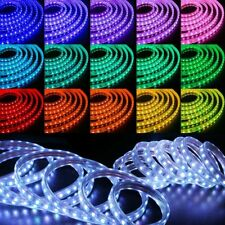 50ft Color Changing LED Strip Flexible 5050 SMD Remote Flash Stobe Fade Modes