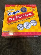 Electronic Snapple Real Facts Game Complete Bottle Works Tested FREE SHIPPING