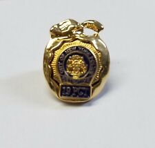New York City Gold Apple - Police Detective 19th Precinct (19 PCT) Lapel Pin