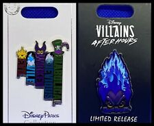 Disney Parks 2 Pin lot Hades Villains After Hours Ltd Release + new VILLAINS
