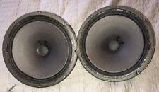 "2 Vintage ALTEC Lansing Extended Range Speaker Model 403A 8"" ~ 8 ohm Impedance"