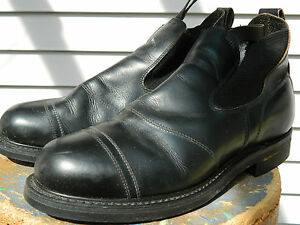 Knapp Brand Safety Toe Work Boots / Estimated US Men size: 9 - 9 1/2 / Used