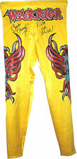 WWE CHAVO GUERRERO RING WORN TIGHTS SIGNED WITH PROOF 3