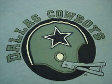 Vintage 1970's DALLAS COWBOYS T shirt 50/50 SUPER VELVETY Soft  !!!