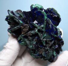 Azurite & Malachite Specimen Mined In Hubei China 303g