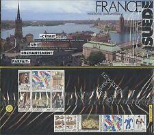 POCHETTE SOUVENIR France Suede 1994 N°P2866  Emission Commune sous blister
