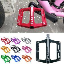 SHANMASHI MTB Bike Bicycle Pedals Flat Platform Sealed Bearing Pedals Alloy