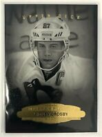 2014-15 Sidney Crosby Upper Deck Masterpieces Portraits Pittsburgh Penguins #154
