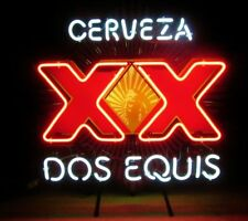 "New Cerveza Xx Dos Equis Neon Sign Beer Bar Pub Gift Light 17""x14"""