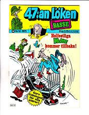 "47:an Loken No 12-1975 - Swedish Sad Sack  - ""Bed Sled Cover!  """