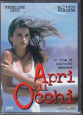 Dvd **APRI GLI OCCHI** con Penelope Cruz nuovo 1998