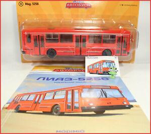 1:43 Bus LIAZ 5256 russian Magazin Modimio №16 USSR UdSSR DDR URSS