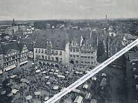 Heilbronn : Markttreiben auf dem Marktplatz - um 1960   G 29-9