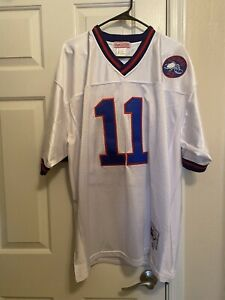 Phil Simms Mitchell & Ness New York Giants Football Jersey... Size 52