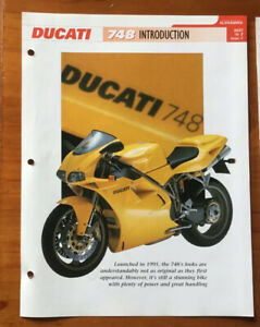 Ducati 748 The Genuine And Complete File From Essential Superbikes 24 Pages