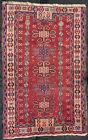 antique tapis caucasien kazak fachralo Caucasian rug fuchsia 150 x 96 cm
