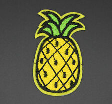 PINEAPPLE PATCH, PINEAPPLE EMBROIDERED APPLIQUE PATCH, FUTURE, ODD (P-351)