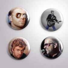 4 George Michael - Pinbacks Badge Button 25mm 1''