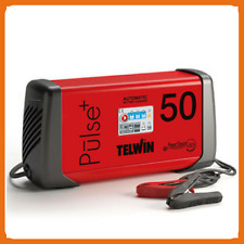 Telwin PULSE 50 Caricabatterie Multifunzione 6-12-24 V - art. 807588