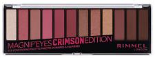 Rimmel Magnif'eyes Blush Edition Eye Contouring Palette, 007 Crimson Edition