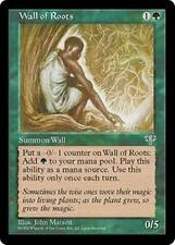 WALL OF ROOTS Mirage MTG Green Creature — Plant Wall Com