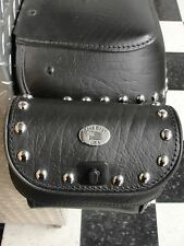 Studded Rear bag Pouch for Heritage Classic Saddlebags