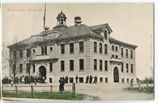 1913 Butler Indiana School  Postcard