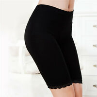 Womens Fashion Elastic Safety Shorts Pants Floral Lace Seamless Leggings new.