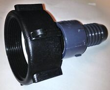 275 330 Gn Ibc Tote Tank Drn Adapter 2 Fine Pipe Thrd X34 Hose Barb H20 Pipe