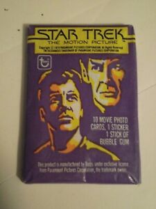 STAR TREK: THE MOTION PICTURE (Topps, 1979)--Unopened Wax Pack