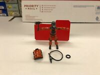 GI Joe 1985 Barbecue Fire Fighter Complete with Mail Away Red Back Filecard